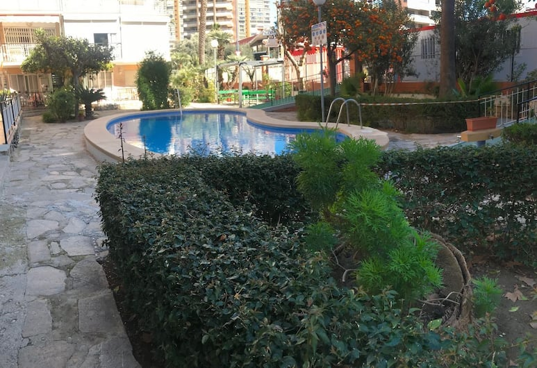 Apartment In The New Town, Benidorm, Outdoor Pool