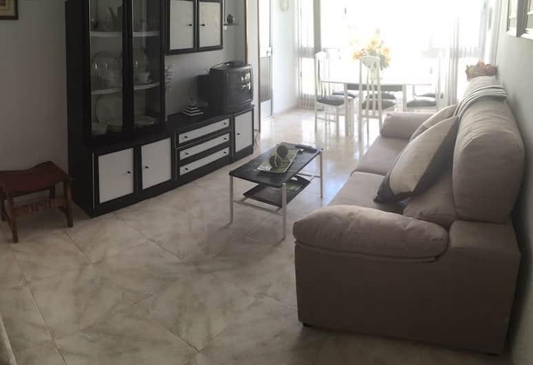 Mediterranean Avenue Apartment, Бенидорм, Апартаменты, 1 спальня, Гостиная