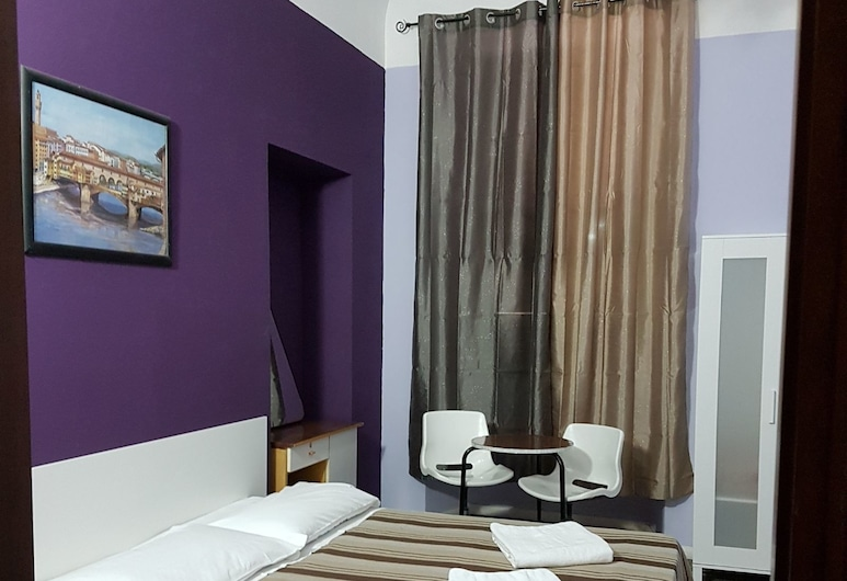 Guesthouse Ava, Rome, Basic Double Room, Shared Bathroom, Guest Room