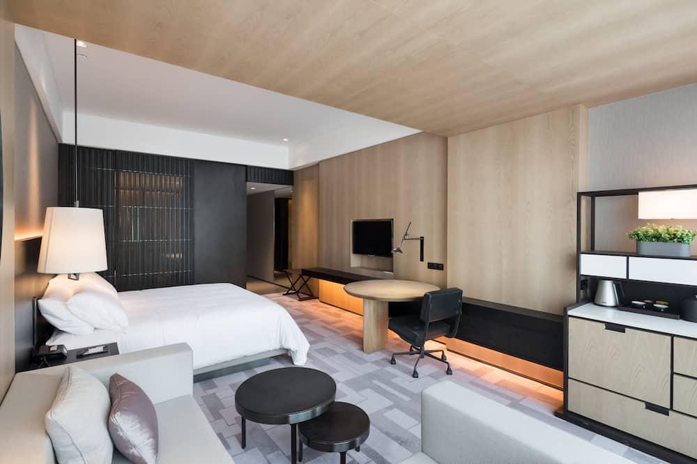 Представительский номер, 1 двуспальная кровать, для некурящих - Гостиная