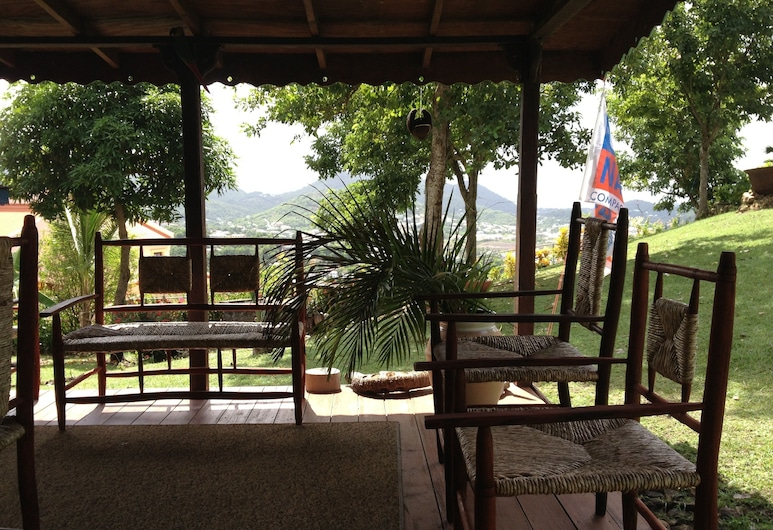 Top of the Hill Two Bedroom Apartment, Rodney Bay, Gros Islet, Interior Entrance
