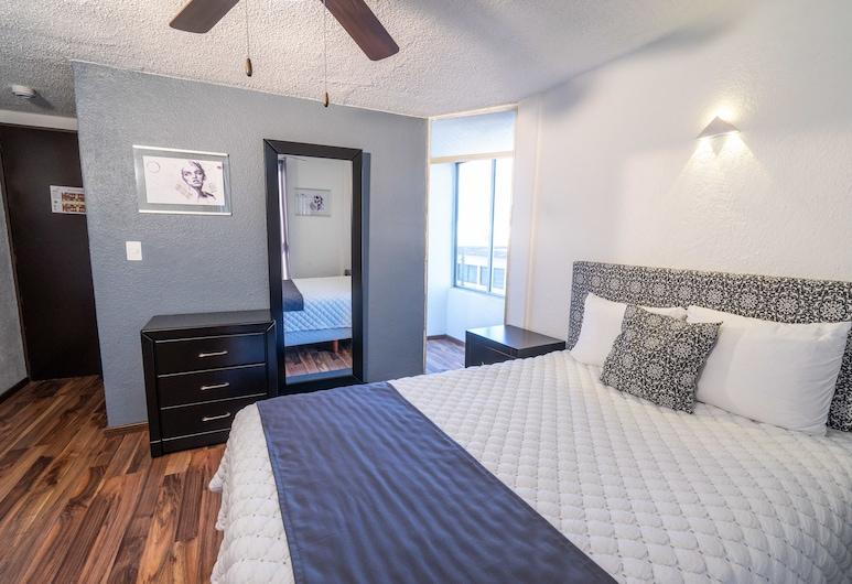 Hotel Delf-inn, Cuernavaca, Economy Single Room, 1 Double Bed, Balcony, Guest Room