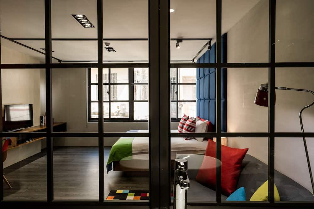 חדר דה-לוקס זוגי, מיטת קווין - חדר אורחים