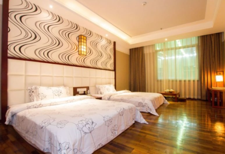 Behito Hotel Weijing, Guangzhou, Superior Twin Room, Guest Room