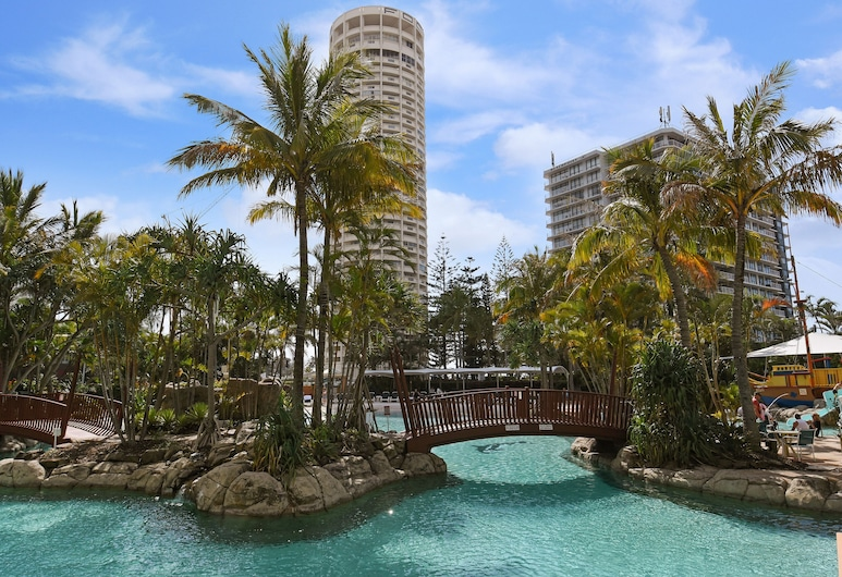Crown Towers Resort Private Apartments, Surfers Paradise, Buitenzwembad