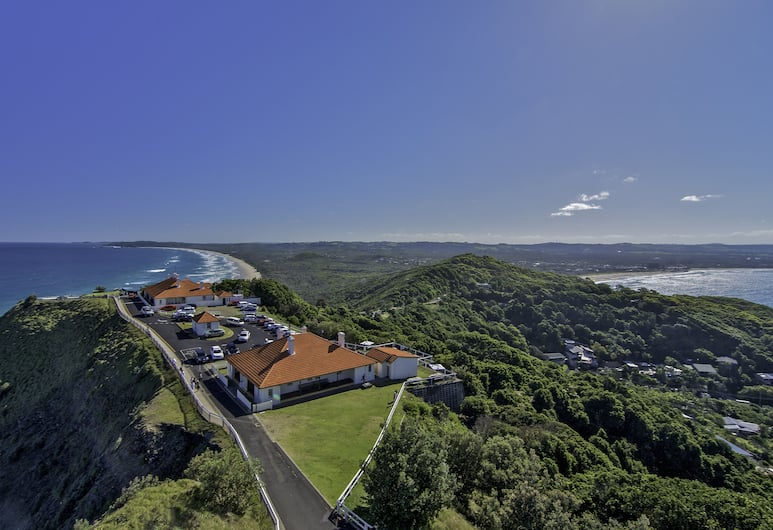 Byron Bay Cottages, Byron Bay, Aerial View