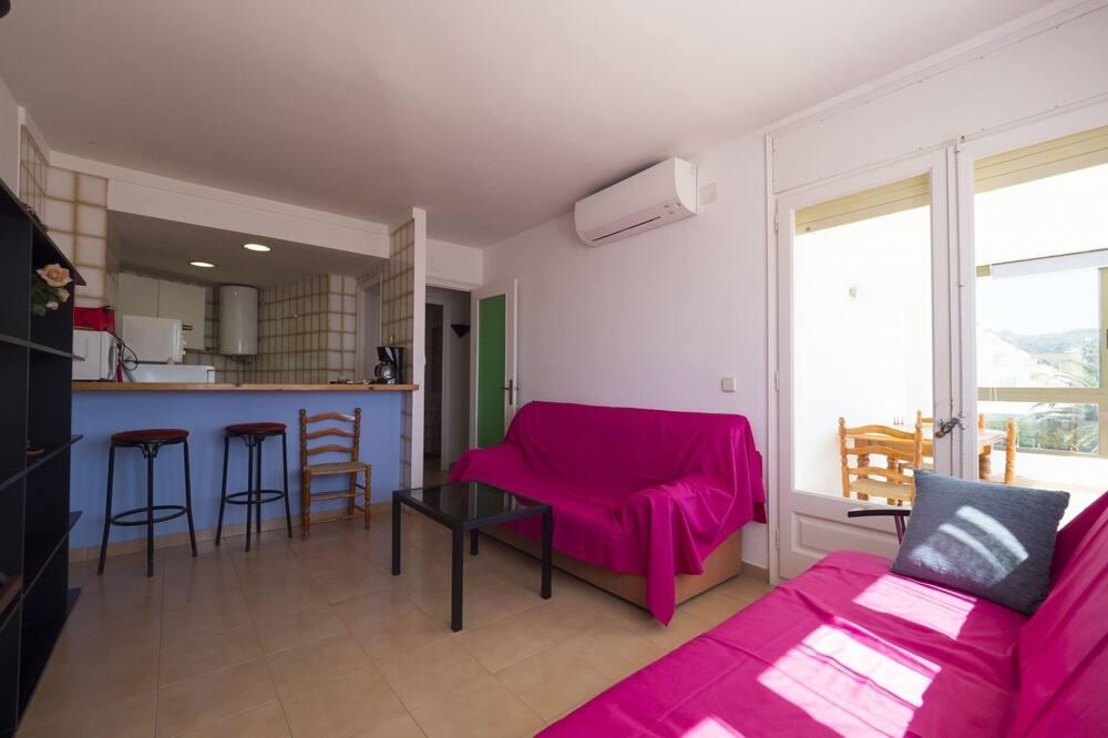 Διαμέρισμα, 1 Υπνοδωμάτιο, Θέα στη Θάλασσα - Περιοχή καθιστικού