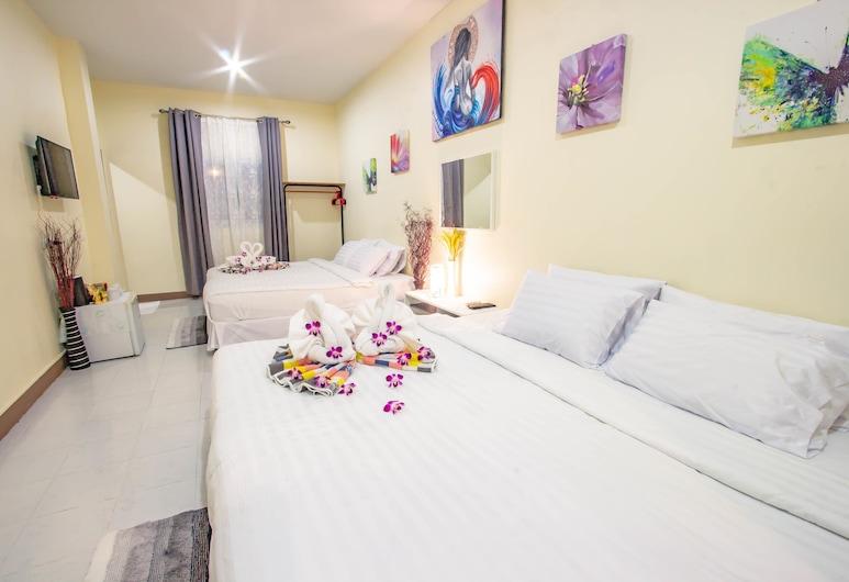 薩爾恩之家旅館, 巴東, 家庭四人房, 1 間臥室, 客房