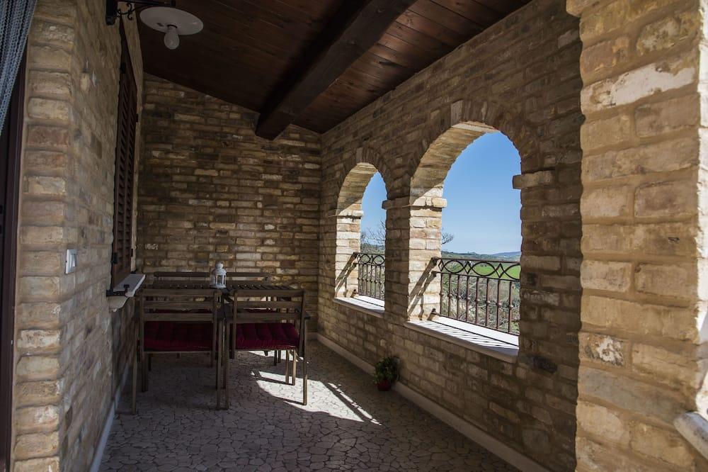 Deluxe Apartment (La Veduta) - Terrace/Patio