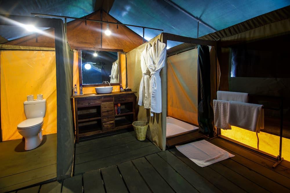 Tent - Badkamer