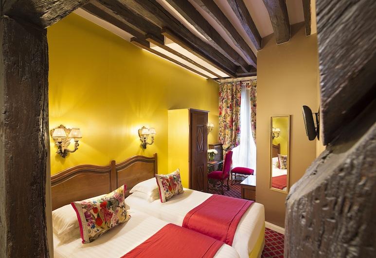 Hotel des Marronniers, Paris, Comfort tvåbäddsrum, Gästrum