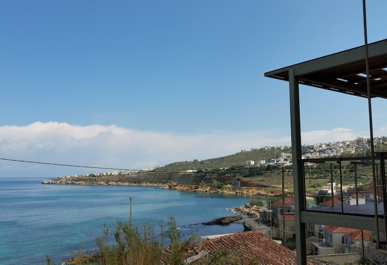 Amazing Sea View Apartment- Adults Only, Chania, Deluxe Apartment, 1 Bedroom, Sea View, Terrace/Patio