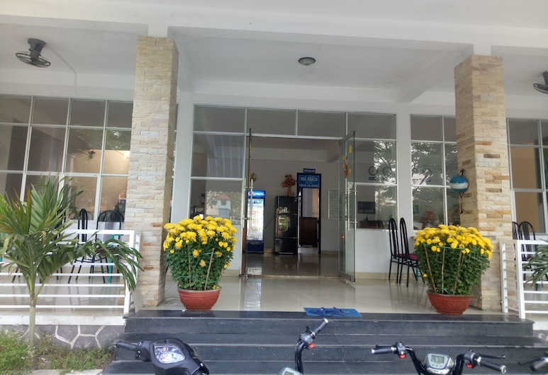 Quang Nam University Guesthouse, Tam Ky, Hotel Entrance