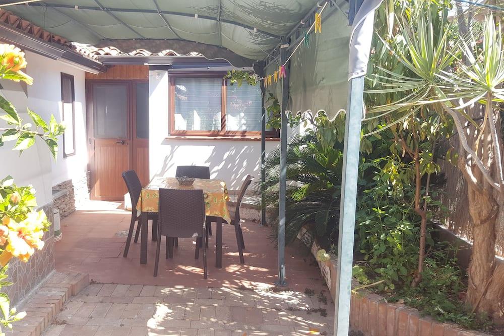 公寓客房, 廚房 (5 Pax) - 庭園景觀