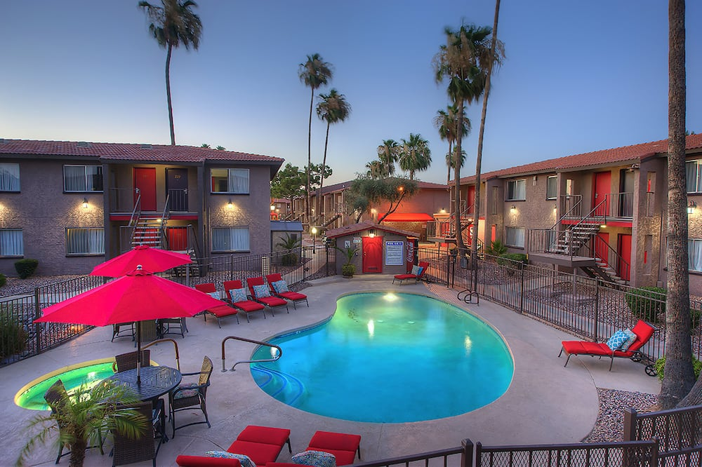 Apartment, 1 Queen Bed, Private Pool, Mountain View - Pool