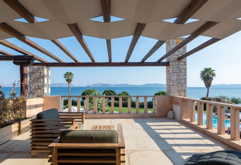 Thermesea Luxury Lodge, Ermionida, Suite Júnior, Varanda, Vista Mar, Vista a partir das Varandas