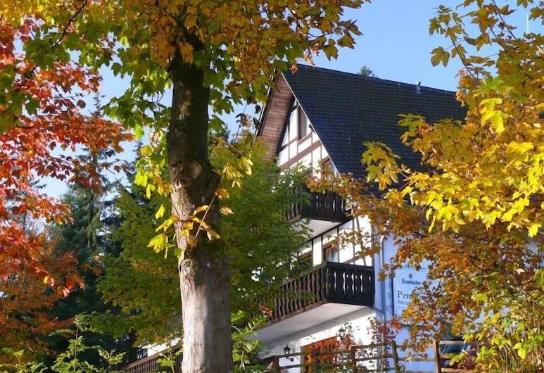 Pension Stiegelmeier, Вінтерберґ, Фасад готелю