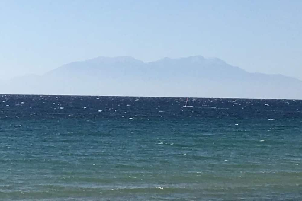 Vista a la playa o el mar