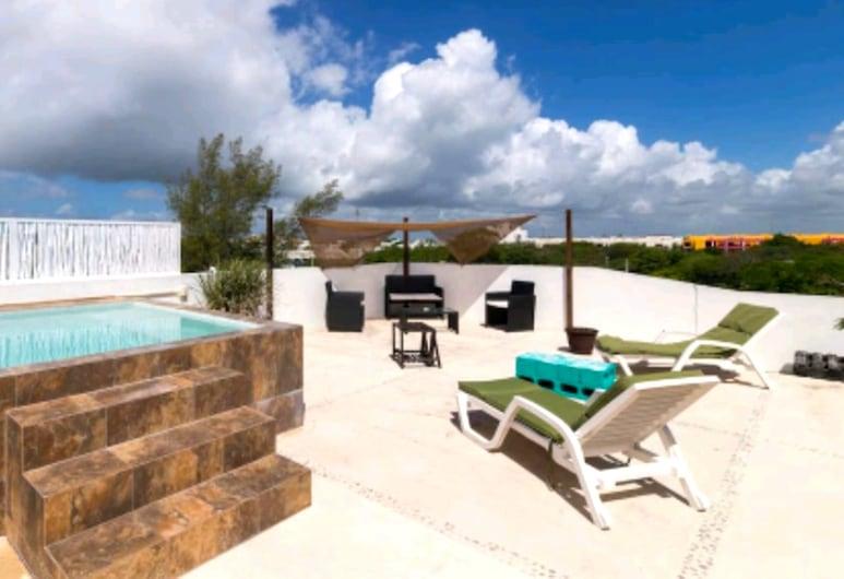 Penthouse vista mar Davinci, Playa del Carmen