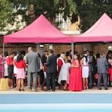 منطقة مكشوفة لإقامة حفلات الزفاف