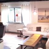 Comfort-Apartment, 3Schlafzimmer, Nichtraucher, Gartenblick - Wohnzimmer