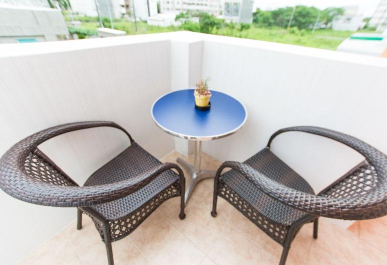 米卡撒民宿, 台東市, 特色四人房, 2 張標準雙人床, 陽台, 陽台