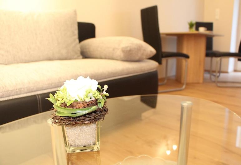 Stars Berlin Apartments Zillestraße, Berlino, Appartamento Classic, 1 camera da letto, Area soggiorno