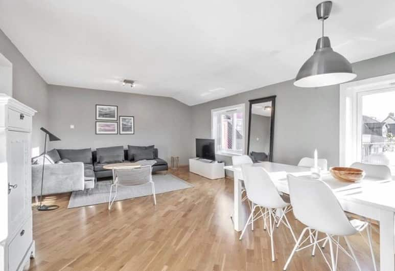 Solferie Holiday Apartment Kongsgård, Kristiansand, Leilighet, 2 soverom, Oppholdsområde