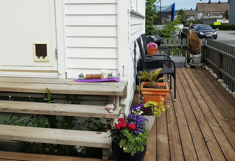 Solferie Holiday Apartment Tors gate, Kristiansand , House, 4 Bedrooms, Teres/Laman Dalam