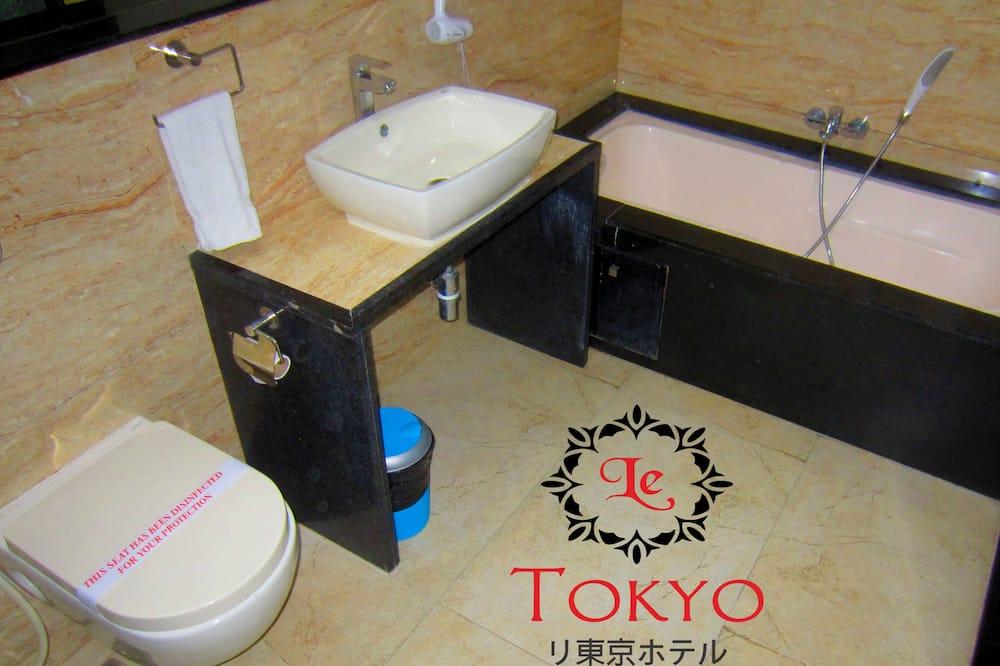 ห้องแกรนด์ดับเบิล, ปลอดบุหรี่ - ห้องน้ำ