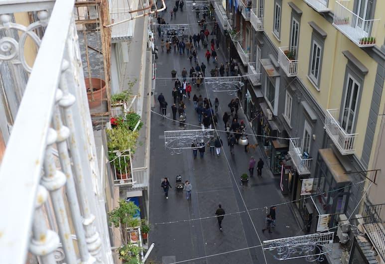 Domus Chiaia Napoli, Naples, Apartment, 1 Bedroom, Balcony