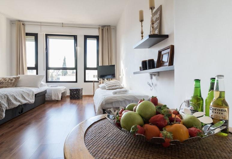كينج ديفيد كورت - إسرينتالز, Jerusalem, شقة - غرفة نوم واحدة, الغرفة