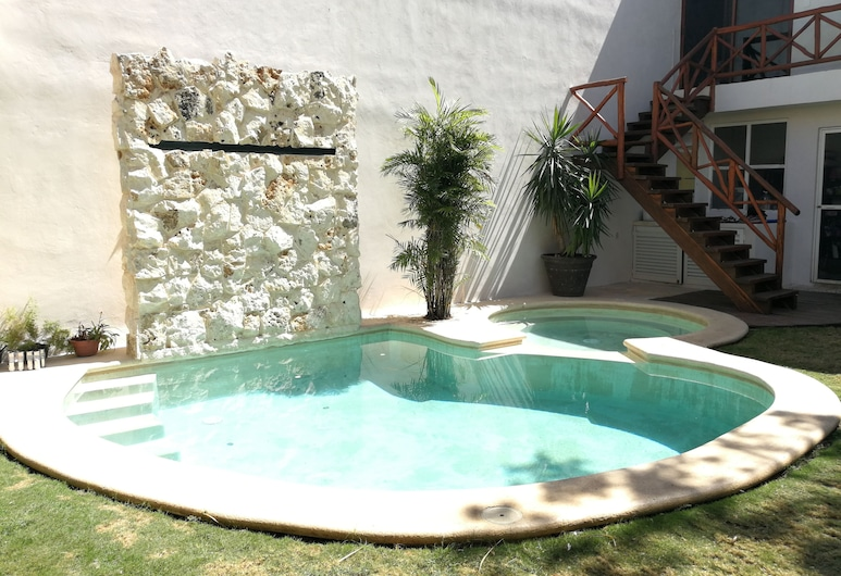 Casa Dolce Casa - Hostel, Puerto Morelos, Alberca al aire libre