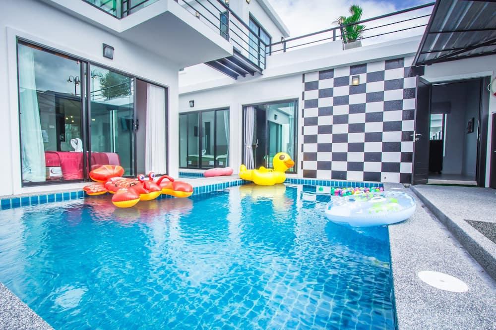 5-Bedroom Villa with Private Pool - Terrasse/Patio