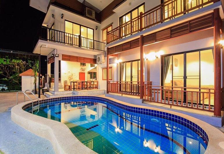 Baan Fueng Fah 102 Pool Villa, Hua Hin, 4-Bedroom Pool Villa , Terrace/Patio