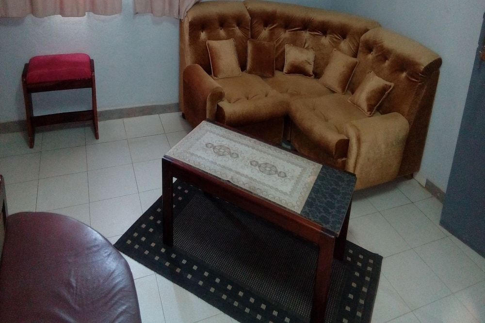 Grand Double Room - Living Area