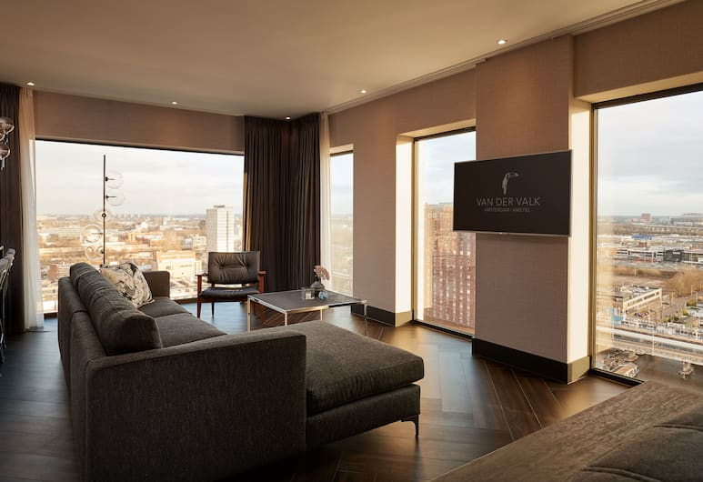 Van der Valk Hotel Amsterdam-Amstel, Amsterdam, Penthouse Suite (South), Gästrum