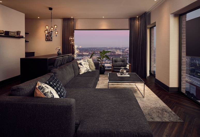 Van der Valk Hotel Amsterdam-Amstel, Amsterdam, Penthouse Suite (South), Guest Room