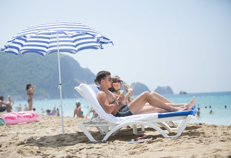 Cleopatra Golden Beach Hotel - All Inclusive, Alanya, Pláž