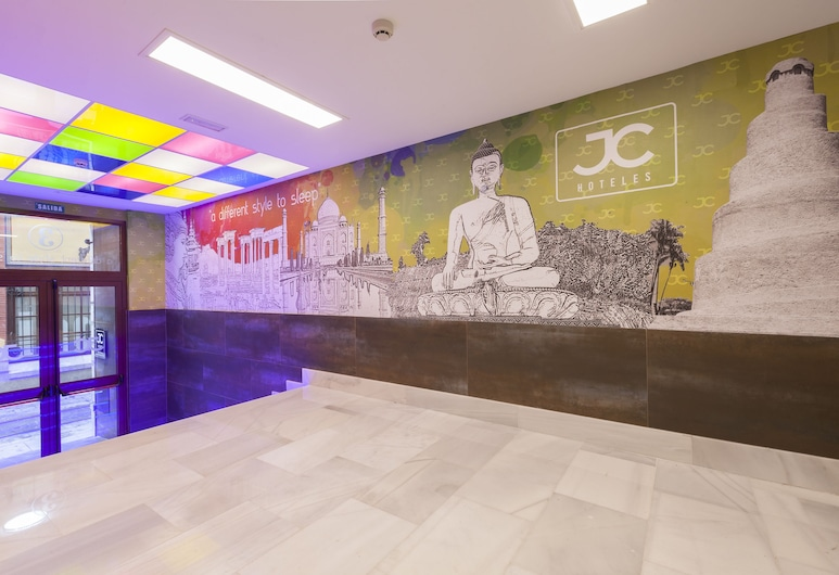 JC Rooms Jardines, Madrid, Wohnbereich