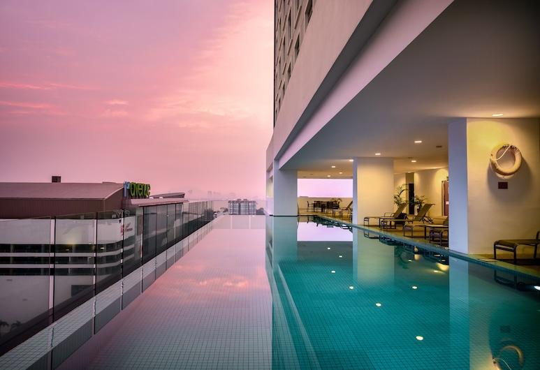 더 웸블리 어 세인트 자일스 호텔 페낭, 조지타운, 야외 수영장