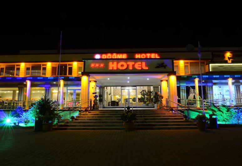 دوجم هوتل, إدِرني, واجهة الفندق - مساءً /ليلا