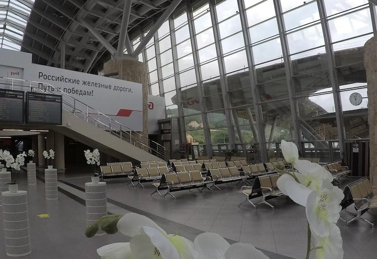 Hostel Terminal Olimpiyskiy park, Adlersky, Pintu Masuk Hotel