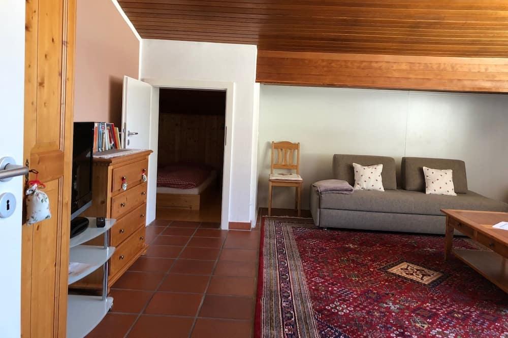 頂級公寓, 2 間臥室 - 客廳