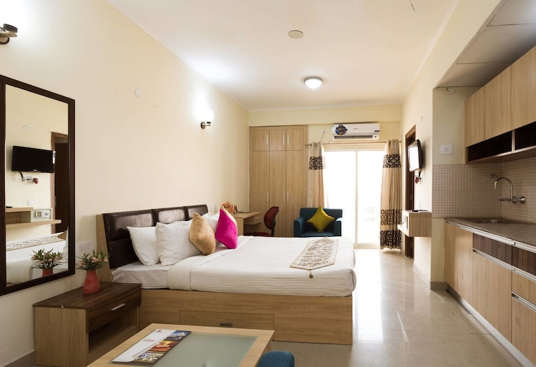 Hyphen Business Hotel, Noida, Chambre Deluxe, Chambre