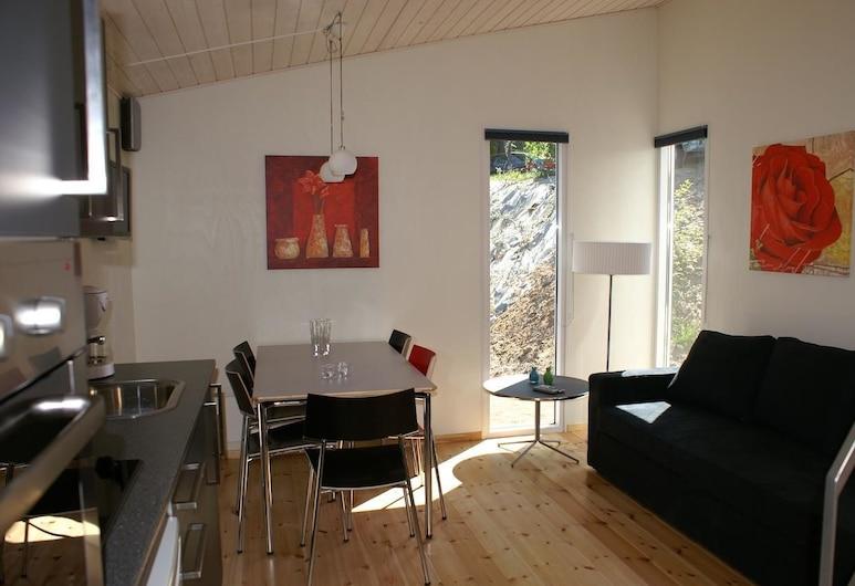 Fjordlyst Camping and Cottages, Aabenraa, Comfort Μπανγκαλόου, Περιοχή καθιστικού