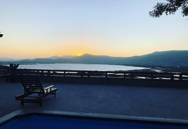 Casa com piscina e incrível vista, Garopaba, Bazén