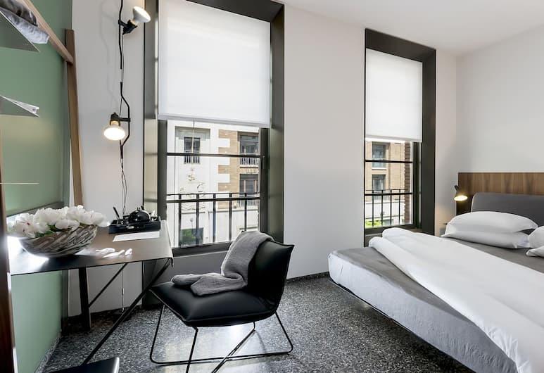 Hotel Royal Bissolati, רומא, חדר דה-לוקס זוגי או טווין (Superior), חדר אורחים