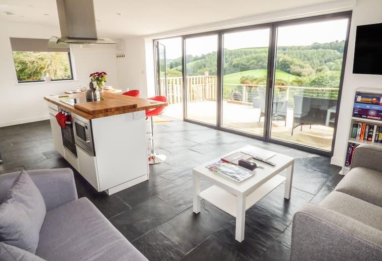 Ramstorland Valley View, Tiverton, Rekreačná chata, Obývacie priestory