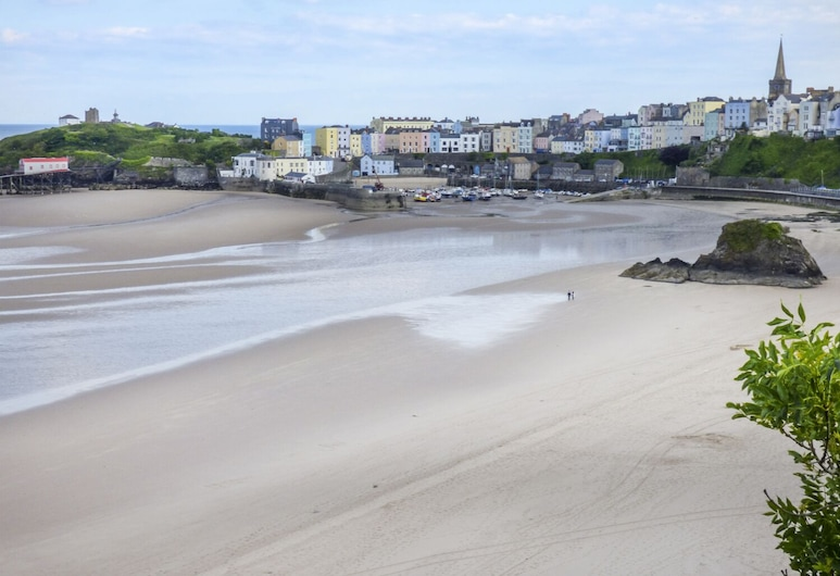 North Beach at The Hideaway, Tenby, Cottage, Spiaggia